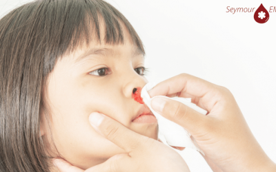Preforming First Aid for Nose Bleeds